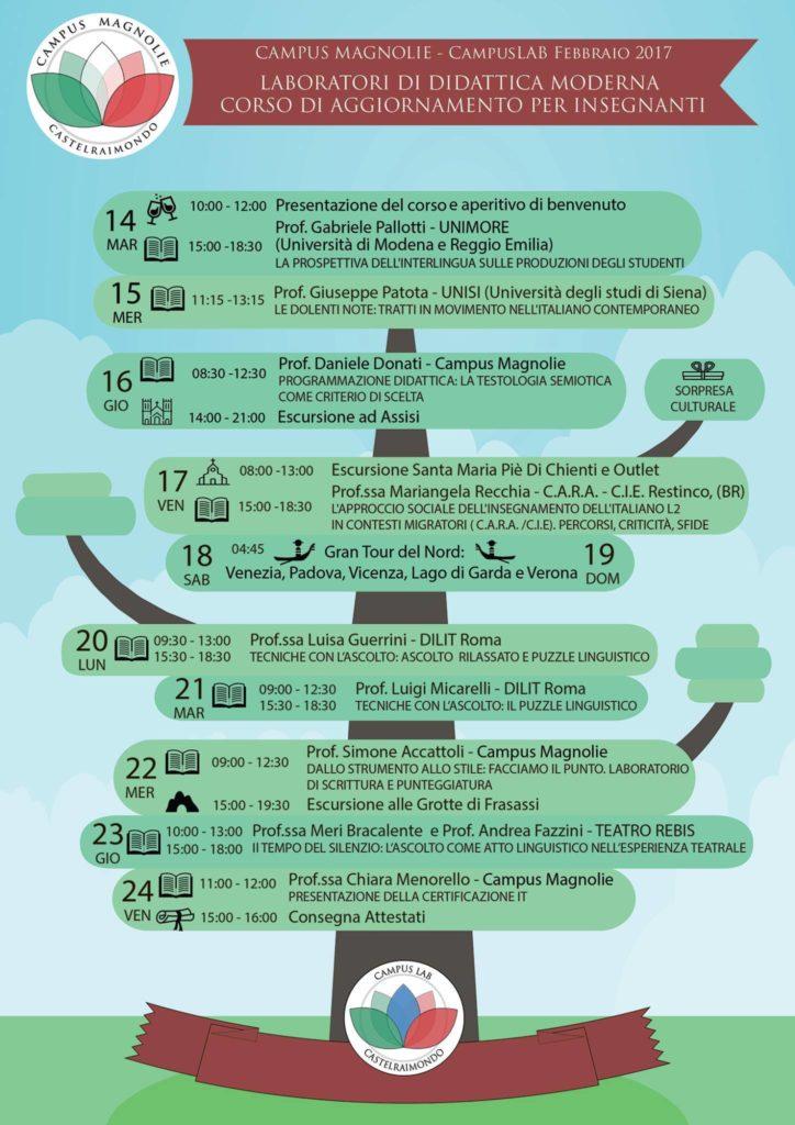 Calendario Lezioni Unimore.Calendario Campus Lab Campus Magnolie